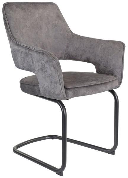 Asko Jídelní židle Hudson, šedá látka