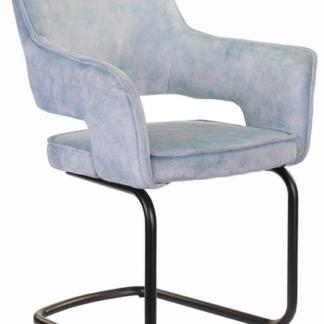 Asko Jídelní židle Hudson, světle modrá látka