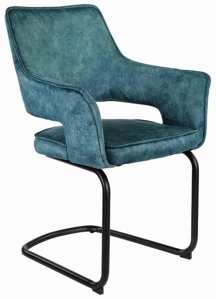 Asko Jídelní židle Hudson, tmavě modrá látka