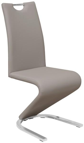 Asko Jídelní židle Vegas, cappuccino ekokůže