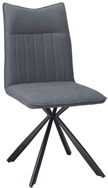 Asko Jídelní židle Hollywood, šedá látka