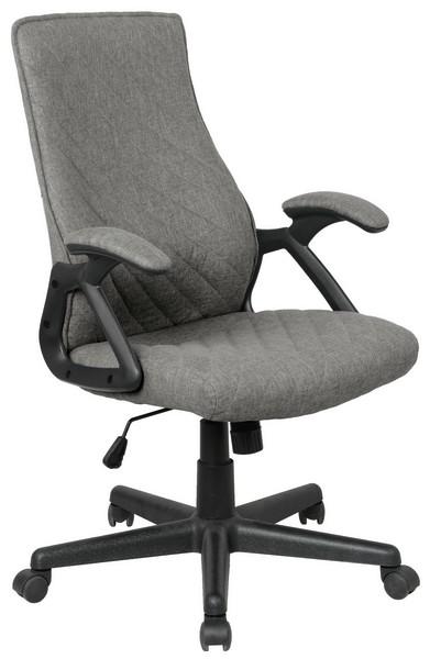 Asko Kancelářská židle Lineus, šedá tkanina
