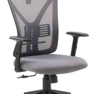 Asko Kancelářská židle Image, šedá látka