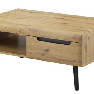 Asko Konferenční stolek se zásuvkami Nordi, dub artisan