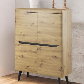 Asko Úložná skříňka Nordi, dub artisan