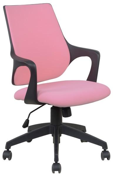 Asko Kancelárská židle Marika, růžová látka