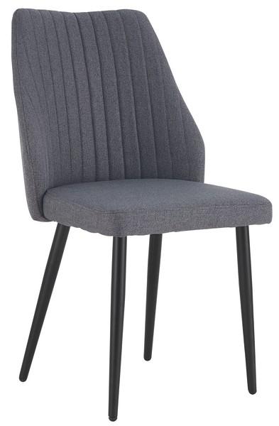 Asko Jídelní židle Vicenza, šedá látka