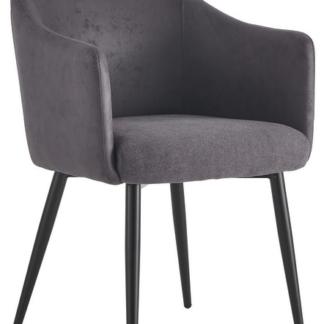 Asko Jídelní židle Colon, tmavě šedá vintage