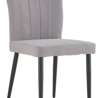 Asko Jídelní židle Padua, světle šedá látka