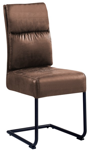 Asko Jídelní židle Chelsea, hnědá vintage látka