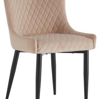 Asko Jídelní židle Charlotta, béžová látka