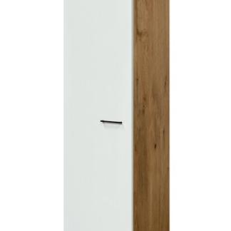 Asko Vysoká kuchyňská skříň Avila GE50, dub lancelot/krémová, šířka 50 cm