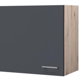 Asko Horní kuchyňská skříňka Tiago H60, dub sonoma/šedá, šířka 60 cm
