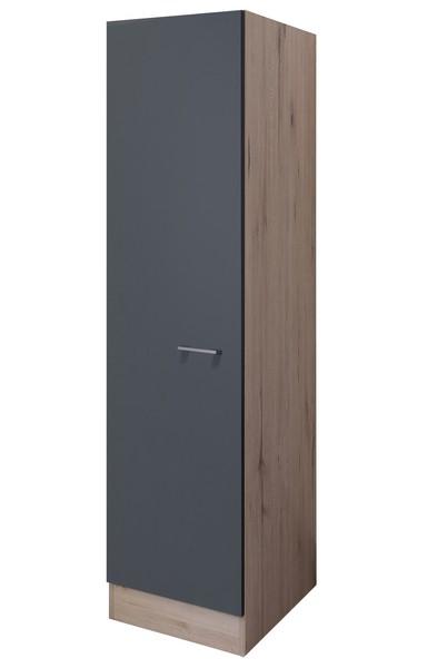 Asko Vysoká kuchyňská skříň Tiago GE50, dub sonoma/šedá, šířka 50 cm