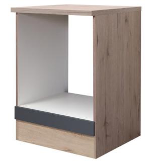 Asko Kuchyňská skříňka pro vestavnou troubu Tiago HU60, dub sonoma/šedá, šířka 60 cm