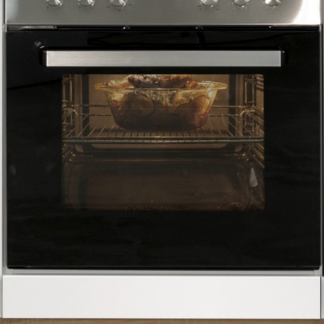 Asko Kuchyňská skříňka pro vestavnou troubu Valero HU60, dub sonoma/bílý lesk, šířka 60 cm