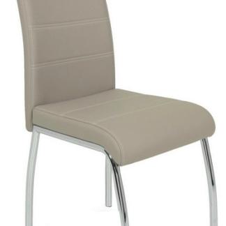 Asko Jídelní židle Susi, cappuccino ekokůže
